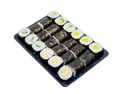 Foto Vegetarisch Maki mix box (24 stuks)